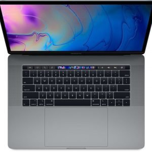 "Apple MacBook Pro [15,4"", Touch Bar, Intel Core i7 2,2GHz, 16GB RAM, 256GB SSD, AMD Radeon Pro 555X, Mac OS X] spacegrau (Mid 2018)"
